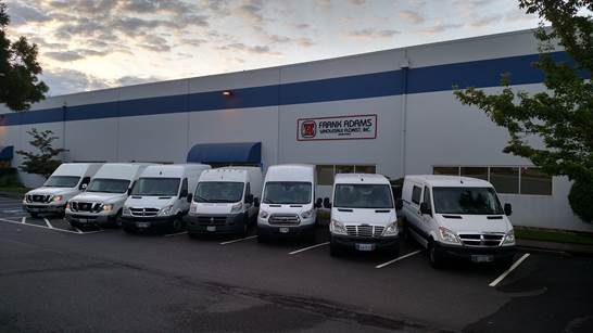 Frank Adams Wholesale Fleet